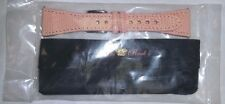 NWT - GLAM ROCK LIZARD LEATHER WATCH STRAP/BAND Pink 22 mm