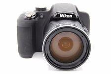 NIKON COOLPIX P600 16MP  60x Zoom 3''Screen Digital Camera BLACK