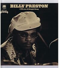 LP BILLY PRESTON I WROTE A SIMPLE SONG (1971)
