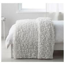 IKEA OFELIA White Bed Blanket 130x170cm