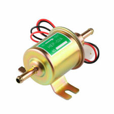 HEP-02A Gas Diesel Fuel Pump Inline Low Pressure 12V Electric Fuel Pump Golden
