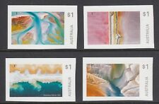 AUSTRALIA 2018 - ART in NATURE  set of 4 x $1 P&S MNH - From the 4 booklets