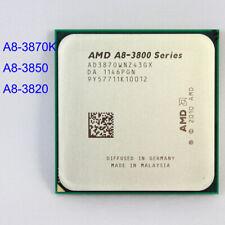 AMD A8-3870K A8-3850 A8-3820 Quad-Core CPU Processor Socket FM1 905PIN US SHIP