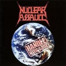 """NUCLEAR ASSAULT """"HANDLE WITH CARE""""  CD THRASH METAL NEW+"""