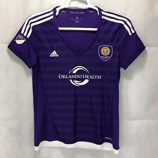 NEW Women's Orlando City SC MLS Soccer Jersey Adidas Size L