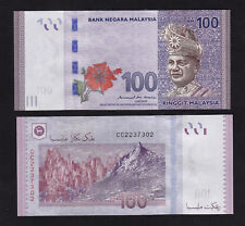 Malaysia 100 Ringgit (2018) P56b New Sign Mbi banknote UNC