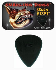 Snarling Dogs Brain Guitar Picks Black .88mm 12 picks in Tin Box