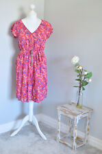 BNWT £95 CREW CLOTHING Ditsy floral print tea dress UK 12