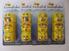 4 Kaomojibalms 3 Pack Chocolate, Cherry, Vanilla & Coconut Exp: 8/20 Jm 1244