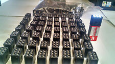 200  Mini LED Flashlights (tops only)  for 9 Volt Battery ( not included)