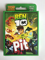 Ben 10 - Pit Card Game - 3 to 9 Players - Age 5+ - Top Cards