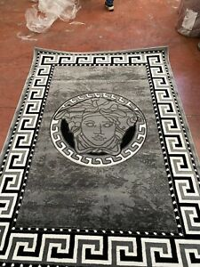 Modern Rug  Large Thick Carving Rugs Medusa Luxurious 120x170