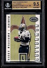 RICKY WILLIAMS 2000 Donruss Preferred Lettermen #LM37 GRADED Gem MINT BGS 9.5