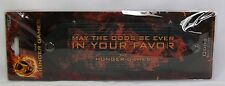 "The Hunger Games ""May The Odds Be Ever In Your Favor"" Leather Slit Cuff Bracelet"