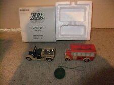 """Dept 56 Heritage Village """"Transport"""" 59838 - Set of 2 -"""
