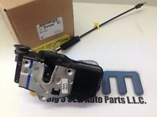 2008-2009 Silverado Sierra Right Rear Door Lock Latch Actuator new OEM 25876398