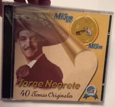 NEGRETE JORGE - Lo Mejor De Lo Mejor - 2 CD - Best Of RCA VICTOR. Brand New.