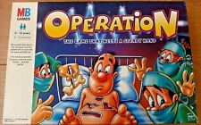 Operation Board Game (Sound FX) by Hasbro - Complete with Instruction