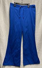 Cherokee Workwear Royal Blue Size Xs Petite Scrub Pants Style 4101P