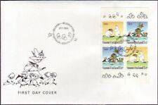 Moomin Troll Sheet Finland Mint FDC 1994