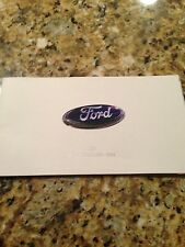 2008 Ford Cars-SUV's-Crossovers 36-page Original Sales Brochure