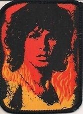 THE DOORS 'JIM MORRISON FLAMES'  vintage printed sew on patch