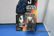 1995 Star Wars The Power of the Force Han Solo in Carbonite  Kenner  Red Card