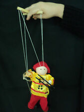 FIREMAN MARIONETTE ~NEW ~ WOODEN ~FREE SHIPPING WITHIN USA