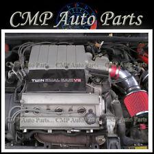 RED AIR INTAKE KIT FOR 1991-1993 CHEVY LUMINA 3.4L 3.4L V6