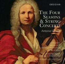 Vivaldi: The Four Seasons; String Concerti (CD, Nov-2014, Obsidian Records)