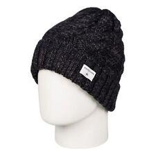 Chapeaux noir en acrylique Quiksilver pour homme