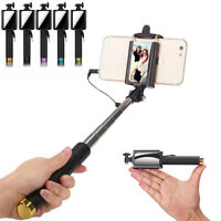 18.5CM Hot selling Monopod Mini Selfie Stick with Mirror For phone Xiaomi Huawei