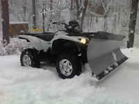 "KFI 60"" Tapered ATV Plow Kit Polaris 2010-2014 Sportsman 550 X2"