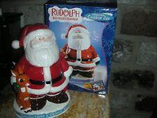 Rudolph Red Nosed Reindeer & The Island of Misfit Toys Enesco Santa Cookie Jar