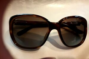 100% Authentic Gucci womens sunglasses. Pre-owned. Havana style. Brown. Square.