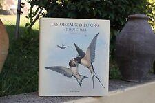 F.Roux / les oiseaux d'europe de john gould