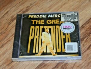 Rare Freddie Mercury CD of Queen - The Great Pretender - SEALED RARE IMPORT 12tk