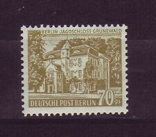 Postfrische Briefmarken aus Berlin (1954-1955) mit