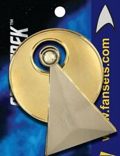 """Star Trek Classic TV Series Vulcan IDIC Logo Large Metal 2"""" Enamel Pin"""