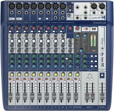 Soundcraft Signature 12 Channel Mixer with Lexicon FX USB Effects New