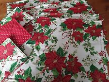 Handmade Christmas Placemats & Coasters REVERSIBLE