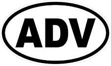 """#938 (2) 2"""" Adventure Rider KLR R1200GS ADV Decal Sticker Laminated"""