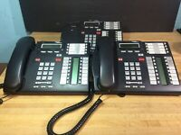 Lot of 3 Nortel Networks T7316E NT8B27JAAA Phones Free Shipping