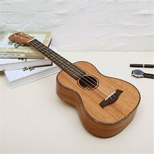 Mahogany Concert Ukulele 23 inch Hawaii Wood Concert Guitar Musical Instrument