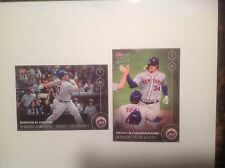 "2016 Topps Now  Bartolo Colon 1st HR & Syndergaard 2 HR Game - BOTH:  ""SOLD OUT"""