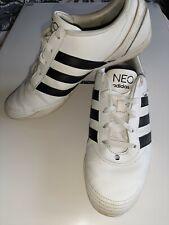 Adidas Neo White & Black Trainers Size UK 7.5