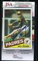 Goose Gossage JSA Coa Autograph 1985 Topps Hand Signed