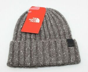 NWT THE NORTH FACE CHUNKY RIB UNISEX BEANIE - OS/REG - RABBIT GREY (MSRP $30)