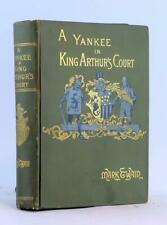 Mark Twain 1st Ed 1st Issue 1889 A Connecticut Yankee In King Arthur's Court