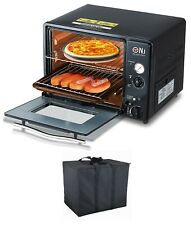 More details for portable mini gas oven 30l grill camping outdoor butane 1.3kw timer piezo gf-300